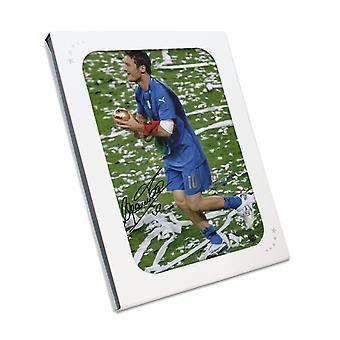 Francesco Totti podpisane zdjęcie Włochy: Zdobywca Pucharu Świata w pudełku prezentowym