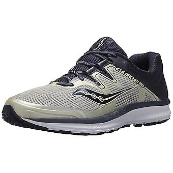 Saucony Mens GUIDE ISO Low Top Lace Up Running Sneaker