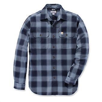 Carhartt Men's Long Sleeve Shirt Hubbard Slim-Fit Flannel