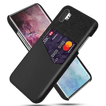 KSQ Samsung Galaxy Note 10 Plus Schale mit Schlitzschwarz
