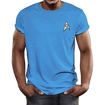 Star Trek Science uniform T-shirt