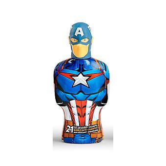 Cartoon Avengers Capitán América Gel & Champú 2en1 350 Ml Unisex