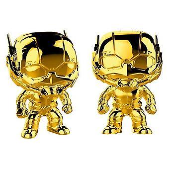 Funko 33521 POP Bobble Marvel Studios 10: Ant-Man Chrom