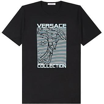 Versace coleção Medusa logo Print T-shirt