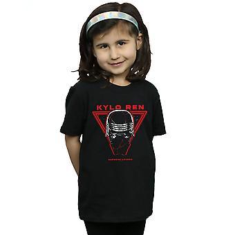 Star Wars The Rise Of Skywalker Supreme Leader Kylo Ren Girls T-Shirt