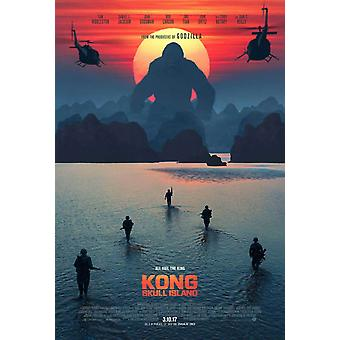 Kong: Skull Island Original Movie Poster Advance Style