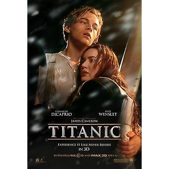 Titanic 3D Poster doppelseitig Advance (2012) Original Kino Poster