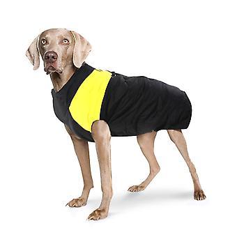 الكلب سترة مبطن للماء الأصفر Xxl