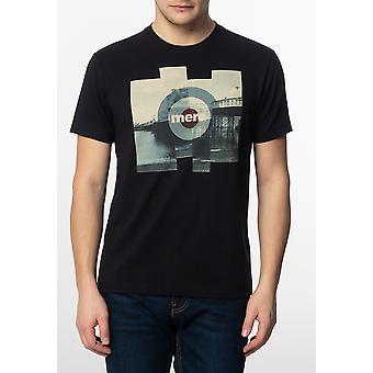 Merc BRETT, Men's Cotton T-Shirt with Pier Photo Print