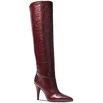 Michael Kors Womens Leather Pointed Toe Knee High Fashion Boots