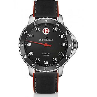 MeisterSinger Men's Watch Classic Plus Salthora Meta X Automatic SAMX902_SRK01R