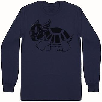 Speed Turtle - Mens Long Sleeve T-Shirt