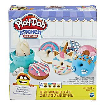 Play-Doh Kitchen Creations delicioso conjunto de donuts