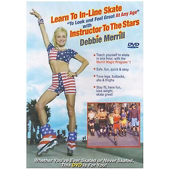 Learn to in-Line Skate [DVD] USA import
