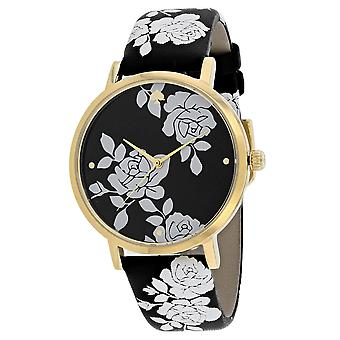 Kate Spade Mujeres's Metro Black Dial Watch - KSW1498