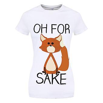Grindstore naisten/naisten Oh Fox sake T-paita
