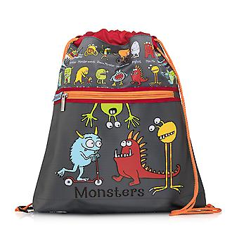 Tyrrell Katz monsters ontwerp kinderen ' s Kitbag