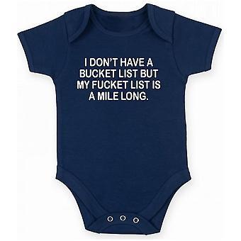 Body neonato blu navy trk0251 bucket list