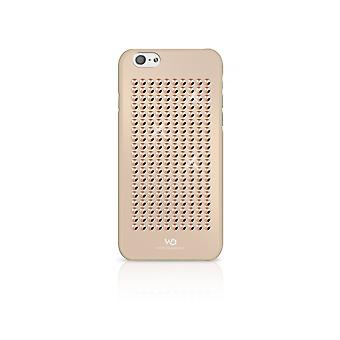 Hull For iPhone 6 / 6s With Golden Crystals Rose