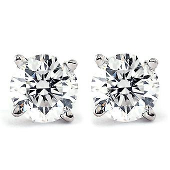 1 CT. T.W. Genuine White Diamond 14K alb sau galben auriu