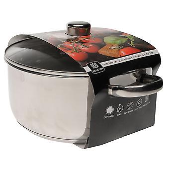 Sí Chef Unisex 24cm Casserole Pot con tapa