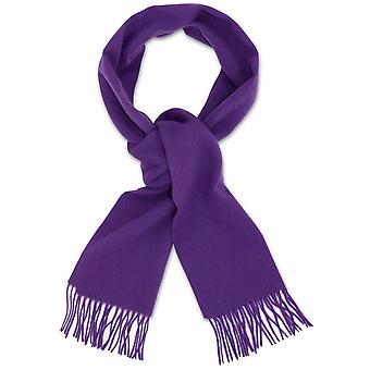 Biagio 100% Wełniany szalik na szyję Solid Szalik dla mężczyzn i kobiet