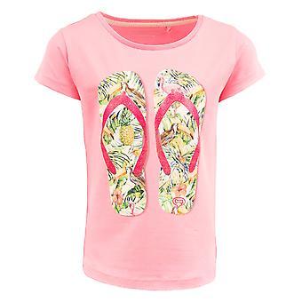 Sten og knogler tshirt Camille flip flops pink