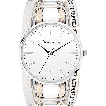 Tamaris - Wristwatch - Women - TW116 - silver, white