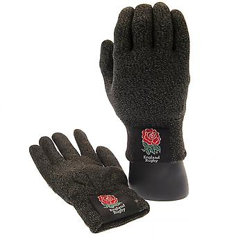 England RFU Adults Unisex Luxury Touchscreen Gloves