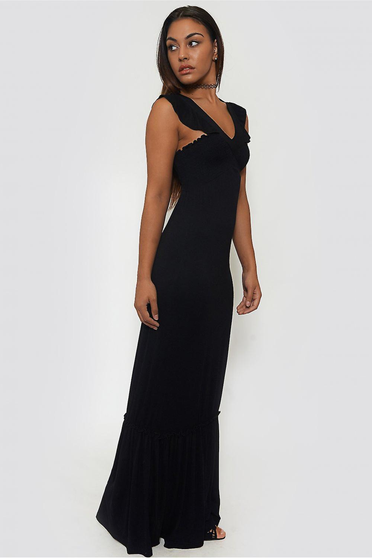 Serina Frill Maxi Dress