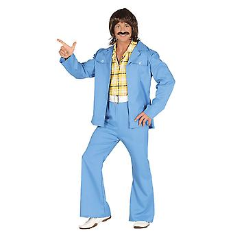 Mens 70's Suit Fancy Dress Kostuum