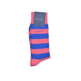 Gant D1. Contrast Barstripe Socks Rapture Rose