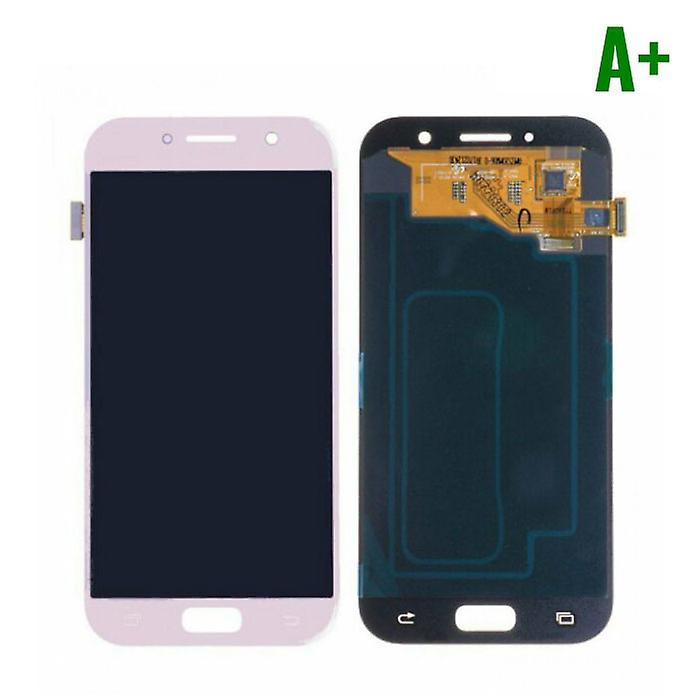 Stuff Certified® Samsung Galaxy A5 2017 A520 Screen (Touchscreen + AMOLED + Parts) A + Quality - Pink