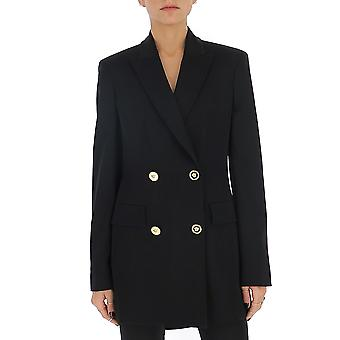 Versace A85354a220957a1008 Women's Black Viscose Blazer