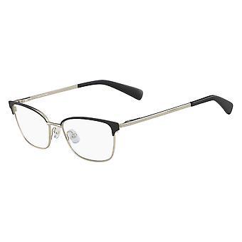 Longchamp LO2102 001 Black-Gold Glasses