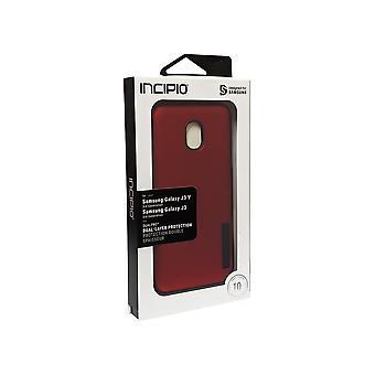 Incipio DualPro Case for Samsung Galaxy 3rd Gen J3/J3V - Iridescent Red/Black