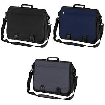 Bagbase Portfolio Briefcase Bag (15 Litres) (Pack of 2)