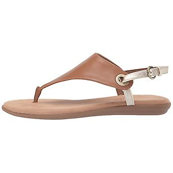 Aerosoles - Donne's in Conchlusion Sandal - Leather Toe Strap Summer Flat Sho...