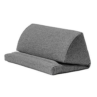 Chambres assorties Pewter Wool Effet Pull Out Faom Portable Tablet Stand