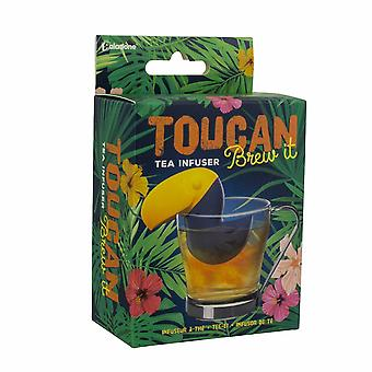 Toucan Brew It Tea Infuser Leaf Loose Herbal Drink Soft Silicon améliore la saveur