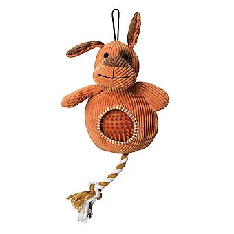 House Of Paws Pooch Cord Dog Toy With Spiky Ball