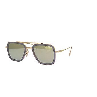 DITA Flight 006 DRX7806 C Matte Crystal Grey-12K Gold/Dark Grey-Milky Gold Mirror Sunglasses