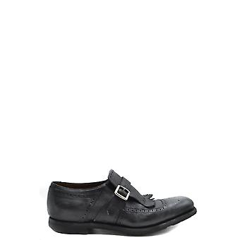 Church's Ezbc004090 Men's Black Leather Monk Strap Shoes