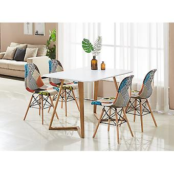 Patchwork Eiffel Dallas Dining Set