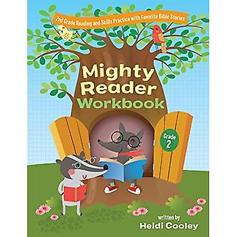 Mighty Reader Workbook, Grade 2: 2nd Grade Reading� and Skills Practice with Favorite Bible Stories