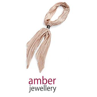 Amber Jewellery  Crinkle Finish Tie Scarf
