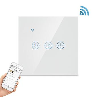 Smart Wifi switch with touch 3-polig