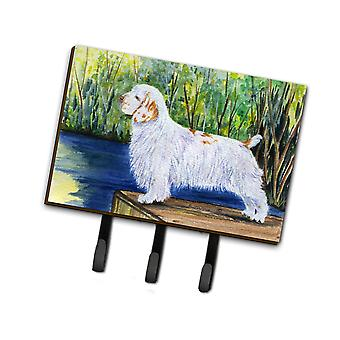 Carolines Treasures  SS8261TH68 Clumber Spaniel Leash Holder or Key Hook