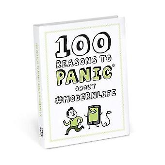 Knock Knock 100 Reasons to Panic About #modernlife by Gemma Correll -