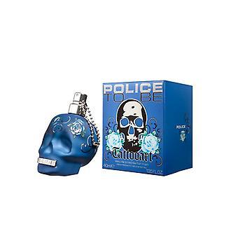 Miesten hajuvesi olla tatuointi art poliisi EDT (40 ml) (40 ml)